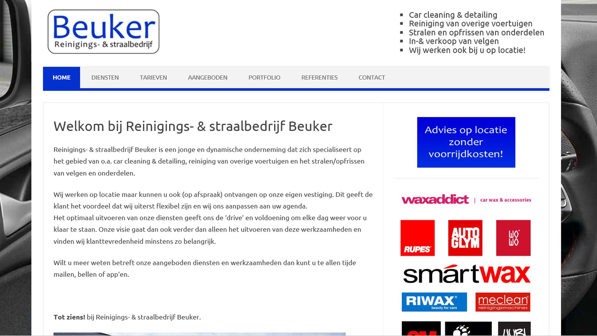 Reinigings- & straalbedrijf Beuker
